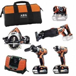 Набор инструментов AEG JP185ALI402 (4935443466), , 18397.00 грн, Набор инструментов AEG JP185ALI402 (4935443466), AEG, Наборы электроинструментов