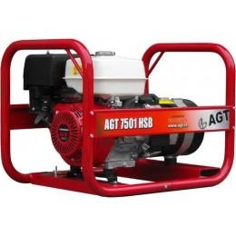Генератор бензиновый AGT 7501 HSBE