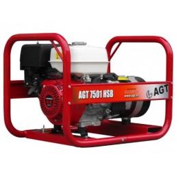 Генератор бензиновый AGT 7501 HSB R26, , 50033.00 грн, Генератор бензиновый AGT 7501 HSB R26, AGT, Бензиновые генераторы