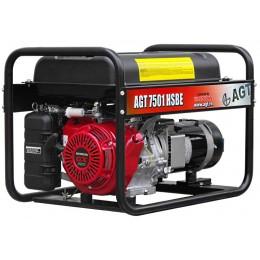 Генератор бензиновый AGT 7501 HSBE R26, , 55409.00 грн, Генератор бензиновый AGT 7501 HSBE R26, AGT, Бензиновые генераторы