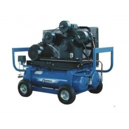 Компрессор передвижной с автономным приводом бенз./электр. Aircast СБ4/С-90.LB75.SPE390R/E