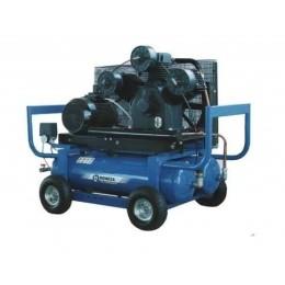 Компрессор передвижной с автономным приводом бенз./руч. Aircast СБ4/С-90.LB75.SPE390R/E