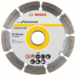 Алмазный диск Bosch ECO Universal 125-22,23 (2608615028)