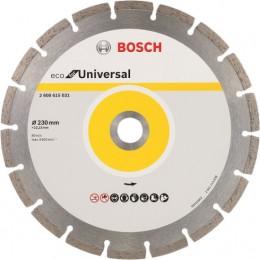 Алмазный диск Bosch ECO Universal 230-22,23 (2608615031)