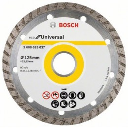 Алмазный диск Bosch ECO Universal Turbo 125-22,23 (2608615037)