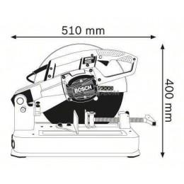 Отрезная машина по металлу Bosch GCO 2000 (0601B17200), , 6202.00 грн, Отрезная машина по металлу Bosch GCO 2000 (0601B17200), Bosch, Отрезные пилы по металлу