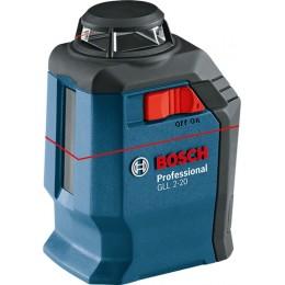 Лазерный нивелир Bosch GLL 2-20 + BM3 + кейс (0601063J00), , 5552.00 грн, Лазерный нивелир Bosch GLL 2-20 + BM3 + кейс (0601063J00), Bosch, Лазерные нивелиры
