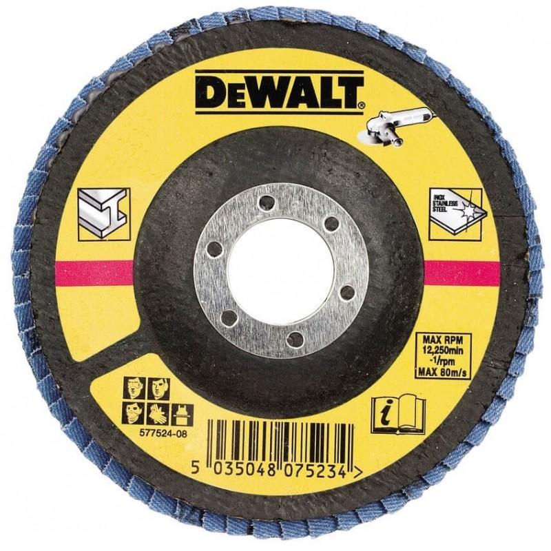 Круг шлифовальный лепестковый изогнутый DeWALT DT3310 138.00 грн