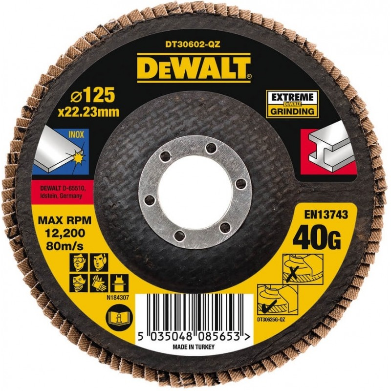 Круг шлифовальный лепестковый плоский DeWALT DT30602 223.00 грн