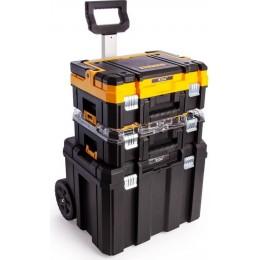 Комплект ящиков DeWALT 2 ящика + ящик-тележка в системе TSTAK (DWST1-81049) 5087.00 грн
