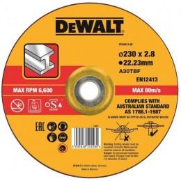 Круг отрезной DeWALT 230х3.0х22.23 мм по металлу (DT43913)