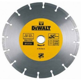 Диск алмазный DeWALT 125х1.8x22.2мм (для резки основных строительных материалов) (DT3711)