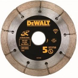 Диск алмазный DeWALT 125x 22.2 мм (для штукатурки) (DT3758)