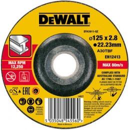 Круг отрезной DeWALT 125х2.8х22.23 мм по металлу (DT43911)