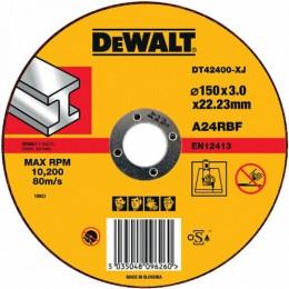 Круг отрезной DeWALT 150х3х22.23 мм по металлу (DT42400)