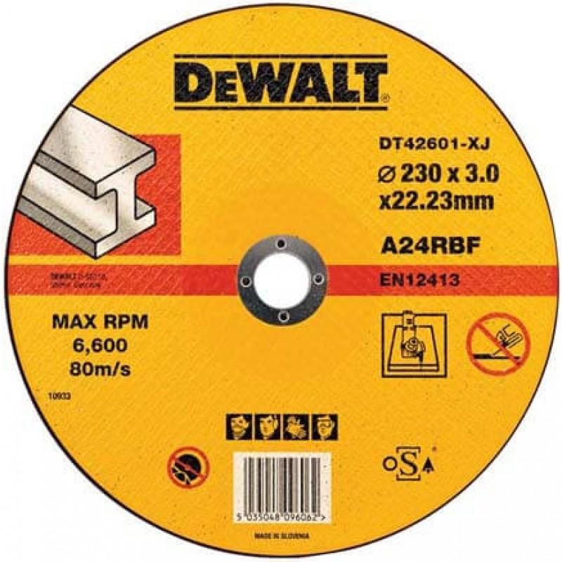 Круг отрезной DeWALT 230х3.0х22.23 мм по металлу (DT42601) 57.00 грн