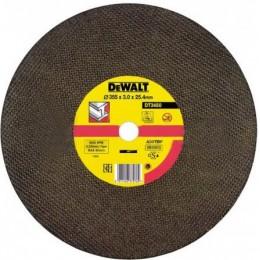 Круг отрезной DeWALT 355х3.0х25.4мм. по металлу (DT3450-QZ)