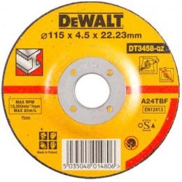 Круг шлифовальный DeWALT 115х4.0х22.23 мм. по металлу (DT3458-QZ), , 55.00 грн, Круг шлифовальный DeWALT 115х4.0х22.23 мм. по металлу (DT3458-QZ, Dewalt, Круги абразивные отрезные