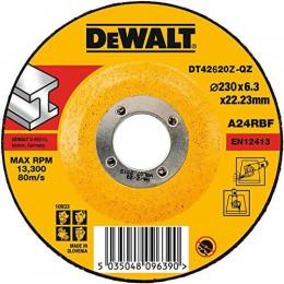 Круг шлифовальный DeWALT INDUSTRIAL 230 х 6,3 х 22,23 мм по металлу (DT42620Z), , 153.00 грн, Круг шлифовальный DeWALT INDUSTRIAL 230 х 6,3 х 22,23 мм по мета, Dewalt, Круги абразивные отрезные