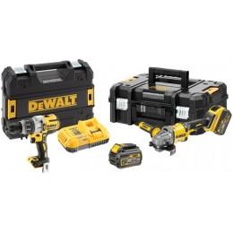 Комплект DeWALT DCK2055T2T (УШМ + шуруповерт) 24699.00 грн