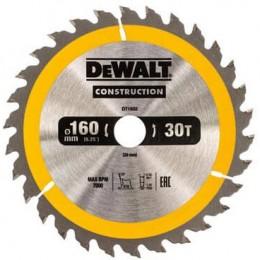 Диск пильный DeWALT 160х20мм 30 зубов (DT1932) 402.00 грн