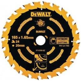 Диск пильный DeWALT 165х20мм 24 зубов (универсальное применение для DWE550) (DT10300) 476.00 грн