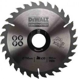 Диск пильный DeWALT 165х30мм 30 зубов (DT1937)