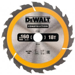 Диск пильный DeWALT 18 зубцов 160х20мм (DT1931) 338.00 грн