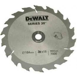Диск пильный DeWALT 184х16мм 18 зубов (DT1938) 381.00 грн