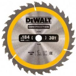 Диск пильный DeWALT 184х16мм 30 зубов (DT1940) 455.00 грн