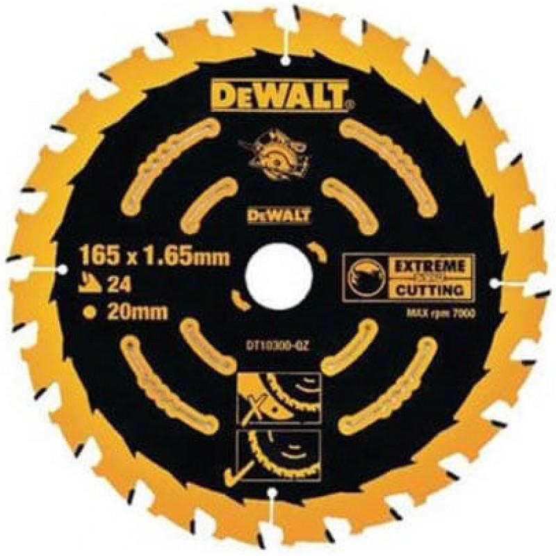 Диск пильный DeWALT 184x16мм 24 зубов (универсальное применение для DWE560) (DT10302) 512.00 грн