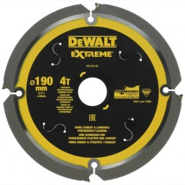 Диск пильный DeWALT 190х30 мм (DT1472) 1794.00 грн