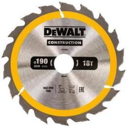 Диск пильный DeWALT 190х30мм 18 зубов (DT1943) 381.00 грн