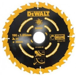Диск пильный DeWALT 190х30мм 24 зубов (универсальное применение для DWE575,DWE576) (DT10304) 497.00 грн
