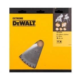 Диск пильный DeWALT 216х30мм 48 зубов (DT4320) 2859.00 грн