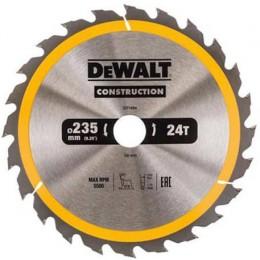 Диск пильный DeWALT 235х30мм 24 зубов (DT1954)