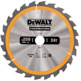 Диск пильный DeWALT 250х30мм 24 зубов (DT1956)