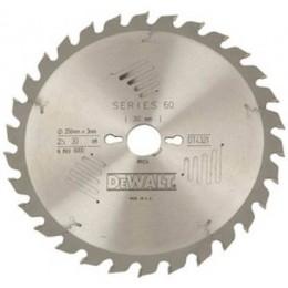 Диск пильный DeWALT 250х30мм 40 зубов универсальное применение по древесине (DT4322) 2961.00 грн