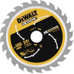 Диск пильный DeWALT XR 165х20 мм количество зубов 24 (DT99560)