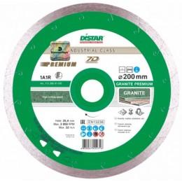 Алмазный диск Distar 1A1R 200x1,7x10x25,4 Granite Premium (11320061015)