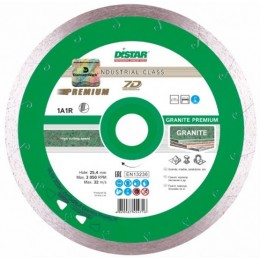 Алмазный диск Distar 1A1R 230x1,7x10x25,4 Granite Premium (11320061017) 774.00 грн