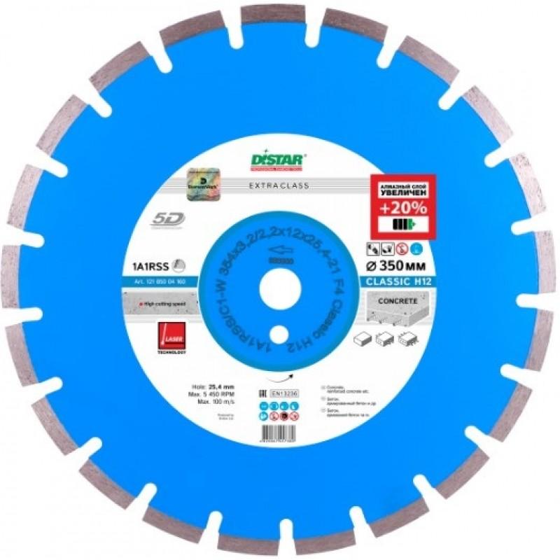 Алмазный диск Distar 1A1RSS/C1-W 354x3,2/2,2x12x25,4-21 F4 Classic H12 (12185004160) 2939.00 грн