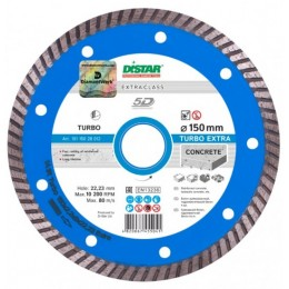 Алмазный диск Distar 1A1R Turbo 150x2,2x9x22,23 Extra (10115028012)