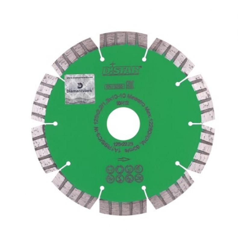 Алмазный диск Distar 1A1RSS/C3-W 125x2,2/1,3x10x22,23-10 Maestro (12315051010)