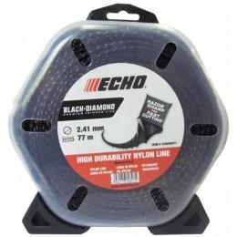 Струна косильная Black Diamond ECHO d-2,4 мм 77 м (квадратная закрученая)