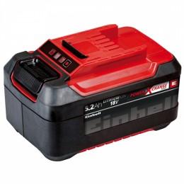 Аккумулятор Einhell 18V 5,2 Ah Power-X-Change (4511437), 4511437, 2058.00 грн, 18V 5,2 Ah Power-X-Change, Einhell, Аккумуляторы для электроинструмента