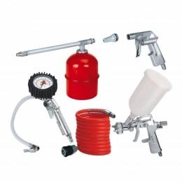 Набор пневмоинструментов Einhell 5 шт (4132720), 4132720, 810.00 грн, Accessories, Einhell, Наборы для компрессоров