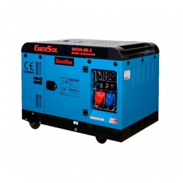 Дизельный генератор EnerSol SKDS-8E-3(B) трехфазный