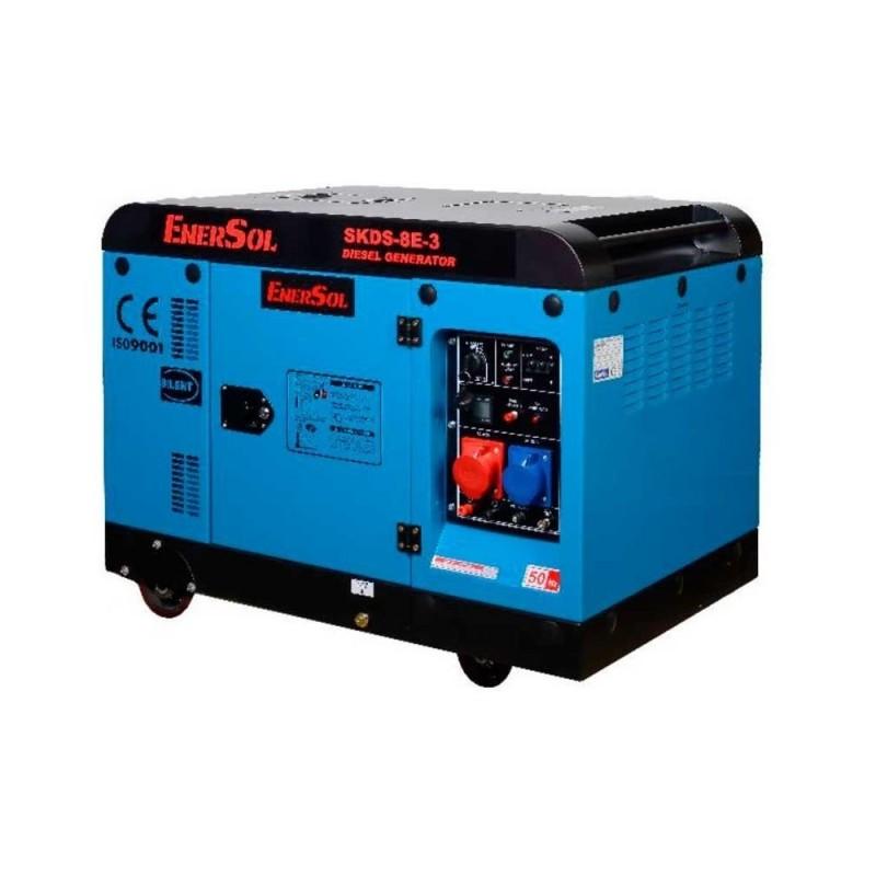 Дизельный генератор EnerSol SKDS-8E-3(B) трехфазный 68502.00 грн