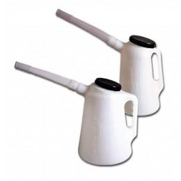 Пластиковая емкость 5 л с гибким носиком и крышкой Groz MSR/P/F-5